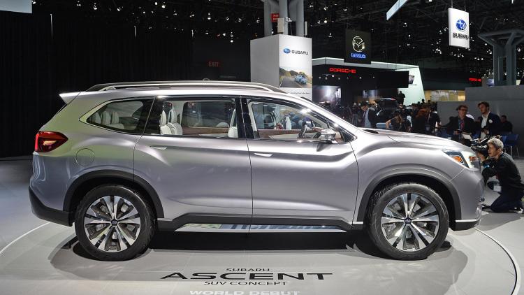 Subaru Ascent Concept Revealed | EMKAY Fleet Management