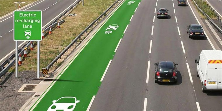 Autonomous Charging Highway