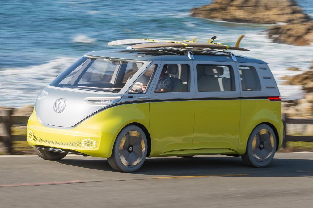 Electric VW Buss